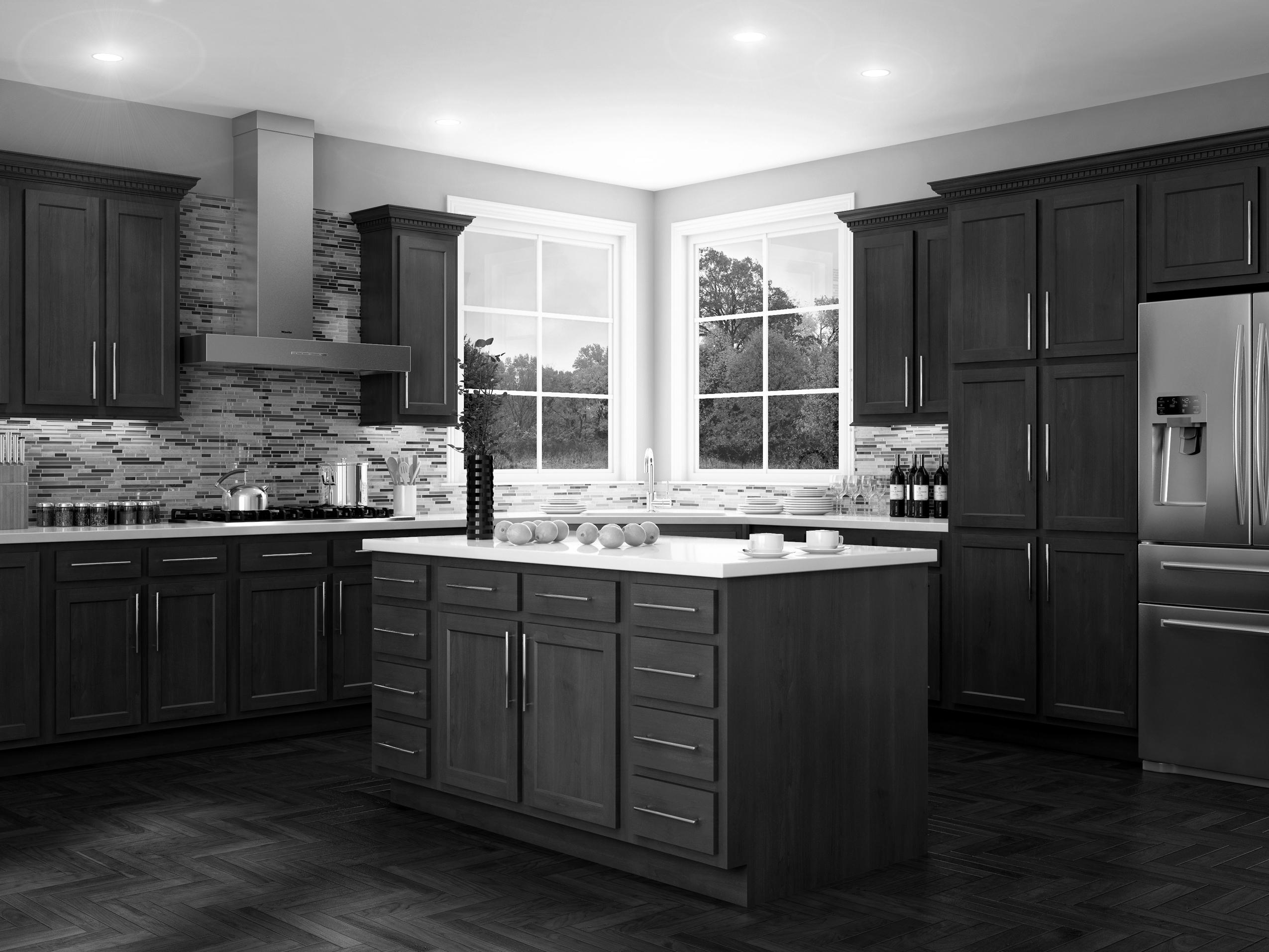 Glenwood Kitchen Cabinets by Kitchen Kompact