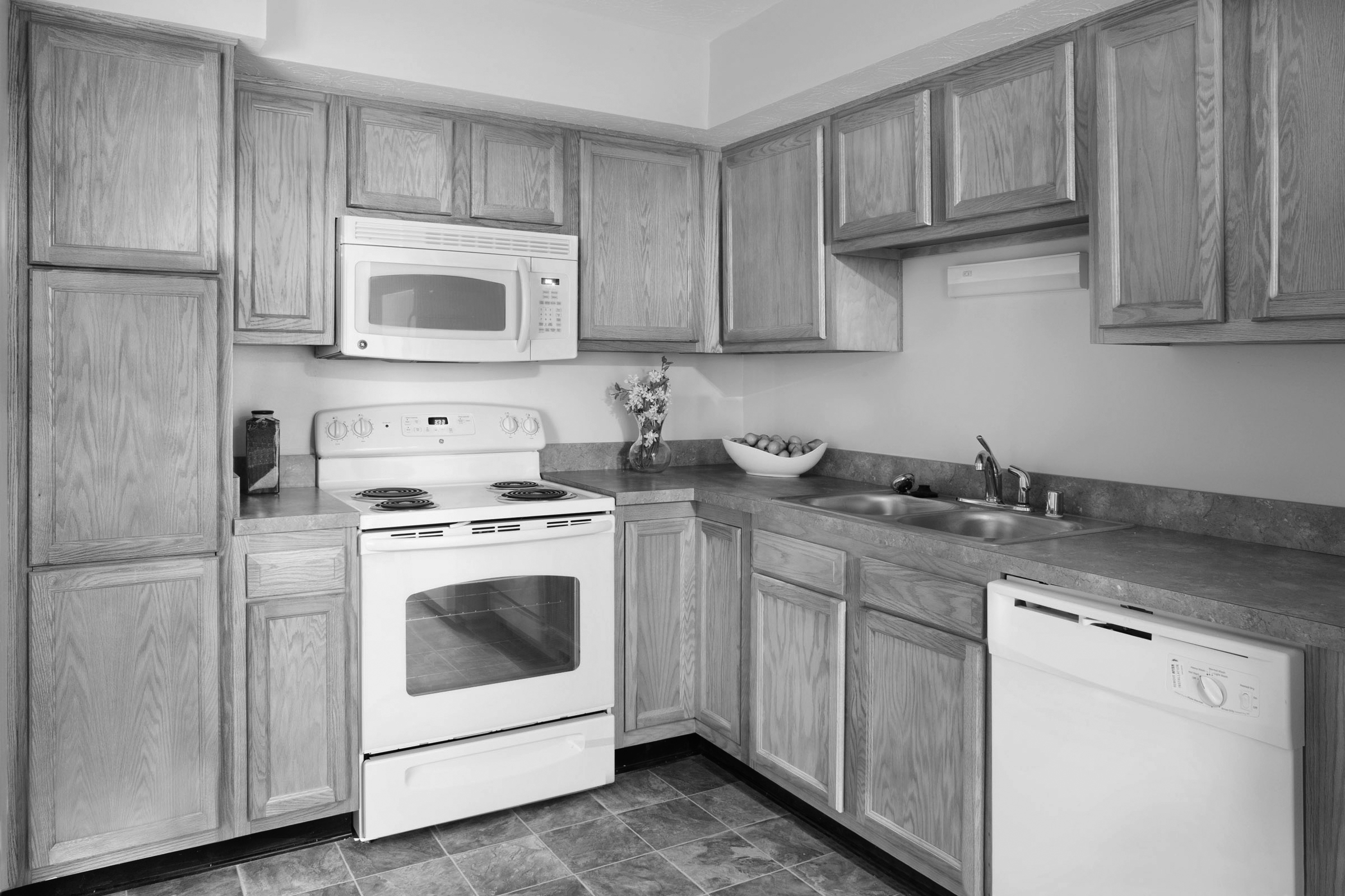Chadwood Kitchen Cabinets in Apartment