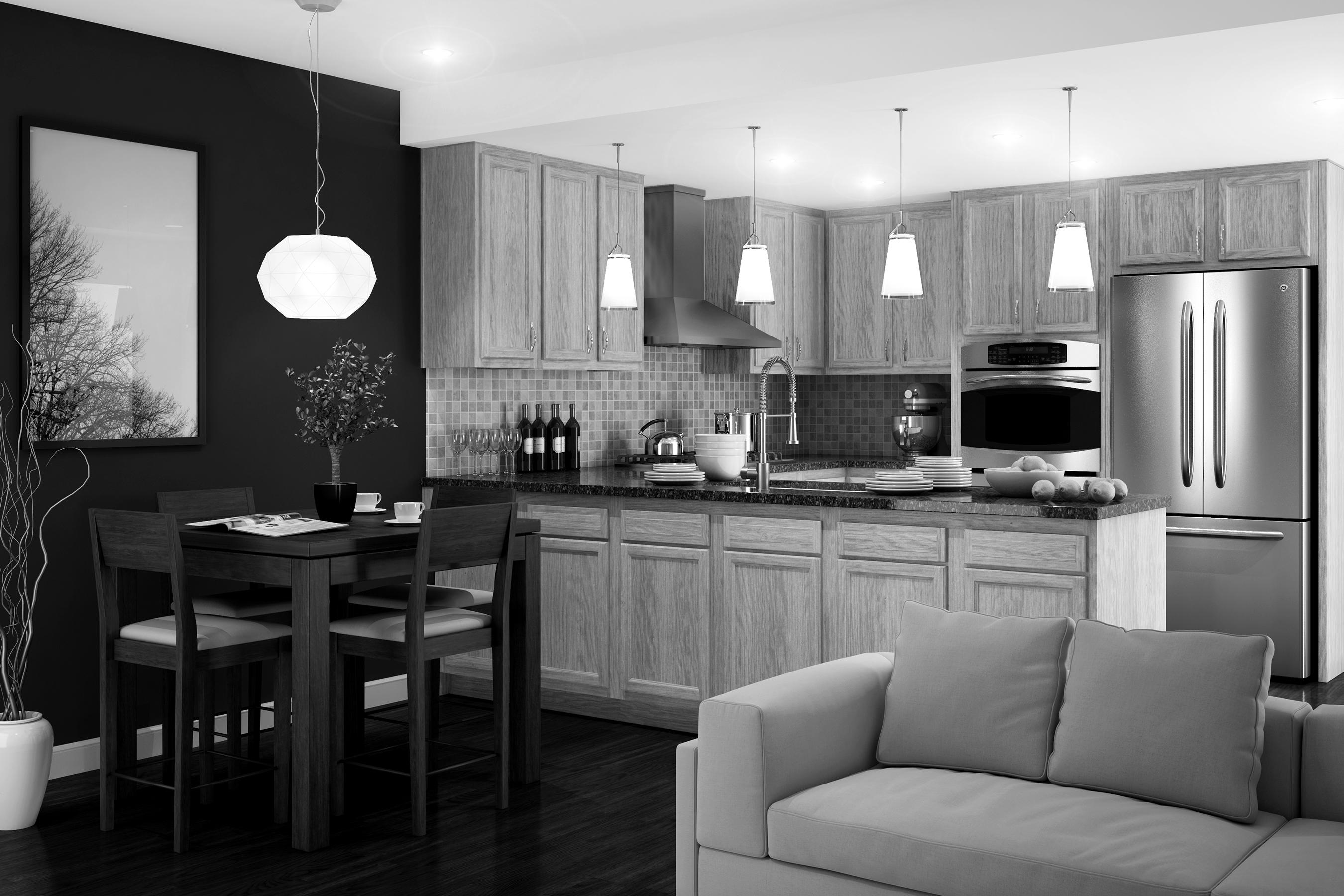 Chadwood Kitchen Cabinets by Kitchen Kompact